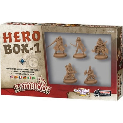 Buy Zombicide - Black Plague - Hero Box 1 and more Great Board Games Products at 401 Games
