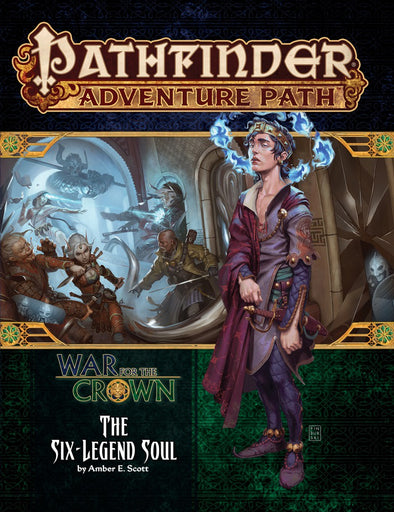 Buy Pathfinder - Adventure Path - #132: The Six-Legend Soul (War for the Crown 6 of 6) and more Great RPG Products at 401 Games