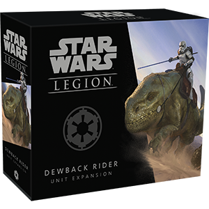 Buy Star Wars - Legion - Imperial Dewback Rider Unit Expansion (Pre-Order) and more Great Tabletop Wargames Products at 401 Games