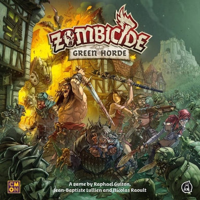 Buy Zombicide - Green Horde and more Great Board Games Products at 401 Games