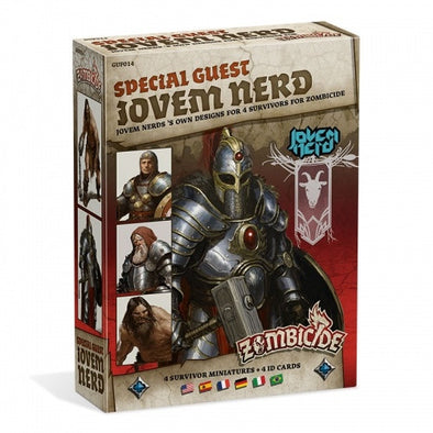 Buy Zombicide - Black Plague - Special Guest - Jovem Nerd and more Great Board Games Products at 401 Games