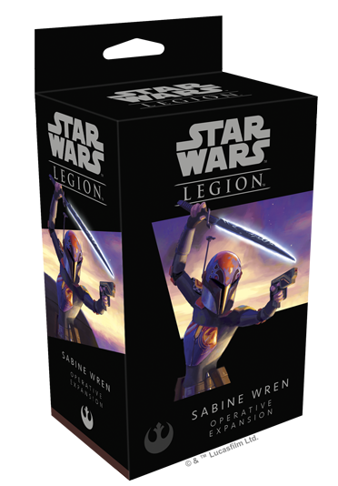 Buy Star Wars: Legion - Sabine Wren Operative Expansion (Pre-Order) and more Great Tabletop Wargames Products at 401 Games