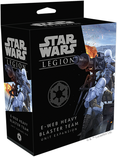 Buy Star Wars - Legion - Imperial - E-Web Heavy Blaster Team and more Great Tabletop Wargames Products at 401 Games