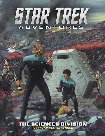 Buy Star Trek Adventures - The Sciences Division and more Great RPG Products at 401 Games