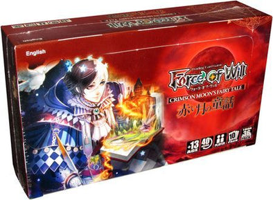 Buy Force of Will - Crimson Moon's Fairy Tale Booster Box and more Great Force of Will Products at 401 Games