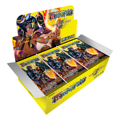 Buy Force of Will - Reyia Cluter - New Dawn Rises Booster Box and more Great Force of Will Products at 401 Games