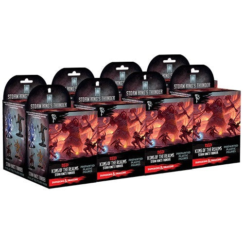 Buy Dungeons and Dragons Minis - Icons of the Realms - Storm King's Thunder Booster Brick and more Great RPG Products at 401 Games