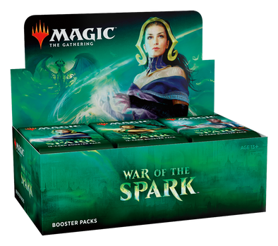 Buy MTG - War of the Spark - English Booster Box and more Great Magic: The Gathering Products at 401 Games