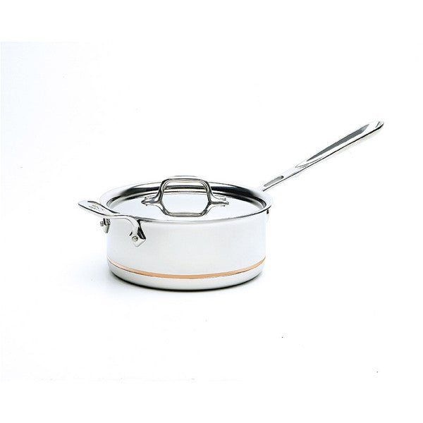 All-Clad Copper Core 3 Qt Sauce Pan