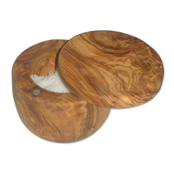 Berard Olive Wood Salt Keeper