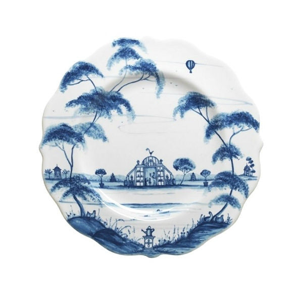 Juliska Country Estate Dessert/Salad Plate Blue