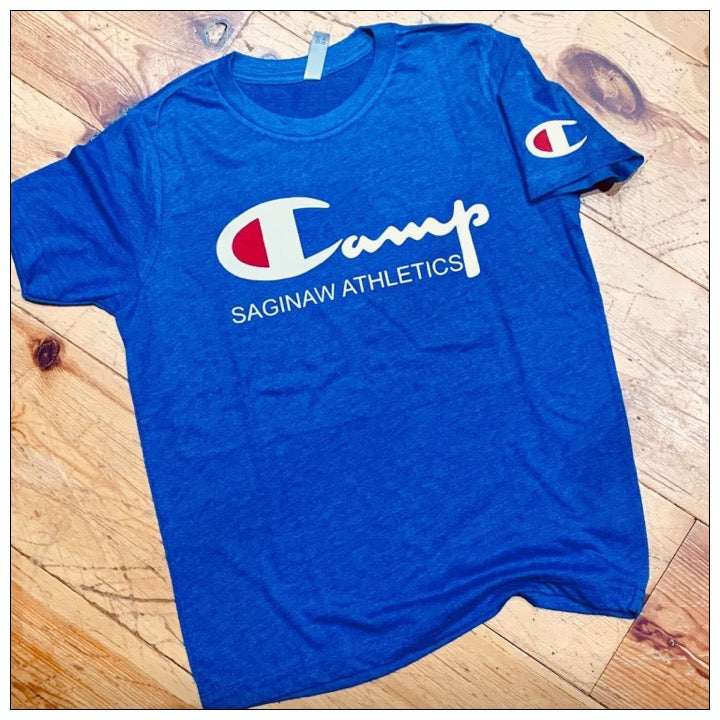 Custom Camp Champ Vintage T shirt - The Canteen