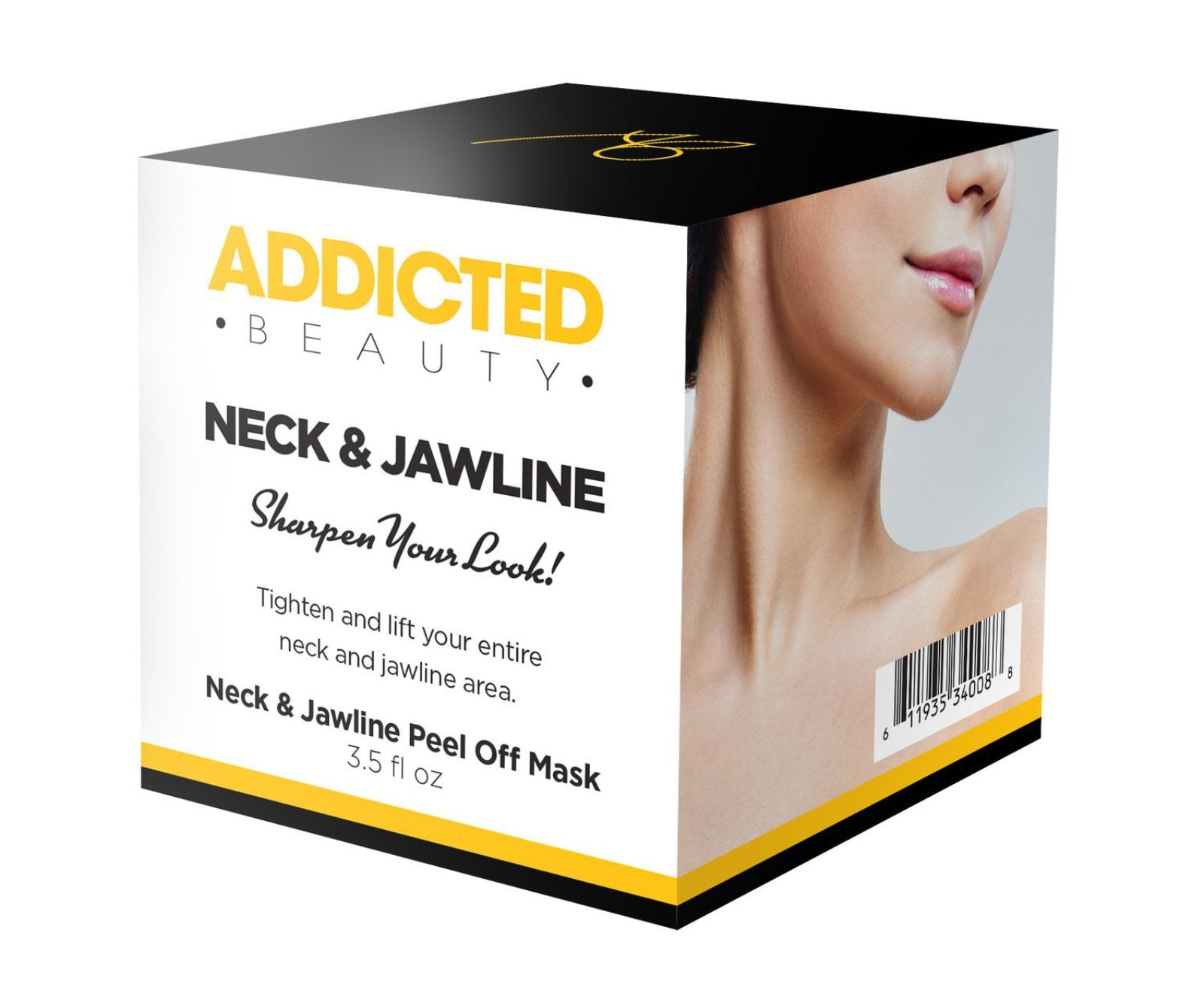 Addicted Beauty Neck and Jawline Peel-Off Mask