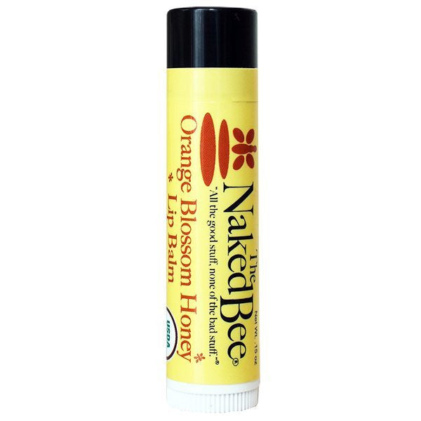 The Naked Bee Moisturizing Orange Blossom Honey Lip Balm
