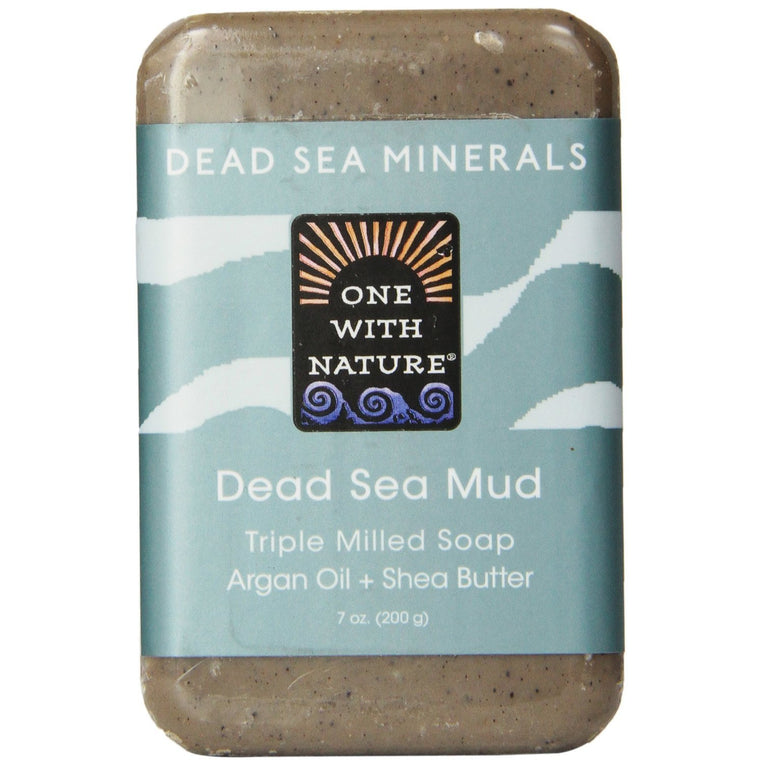 One With Nature Dead Sea Mud Dead Sea Minerals Soap Bar