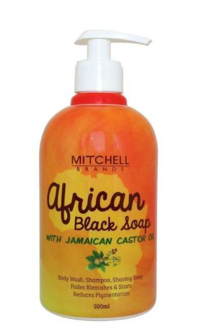 African Liquid Black Soap With Jamaican Castor Oil