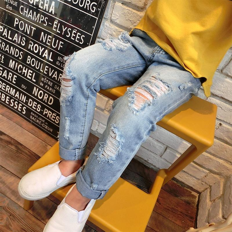 Ripped Classic Jeans