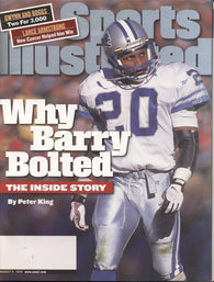 1999 Sports Illustrated Magazine Barry Sanders Tony Gwynn Wade Boggs Lance Armstrong