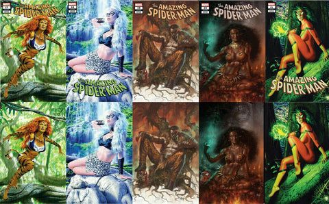 AMAZING SPIDER-MAN COMICXPOSURE HUNTED TRADE/VIRGIN 10 PACK