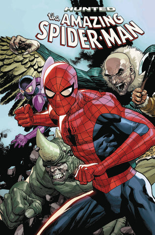 AMAZING SPIDER-MAN #17 YU CONNECTING VAR