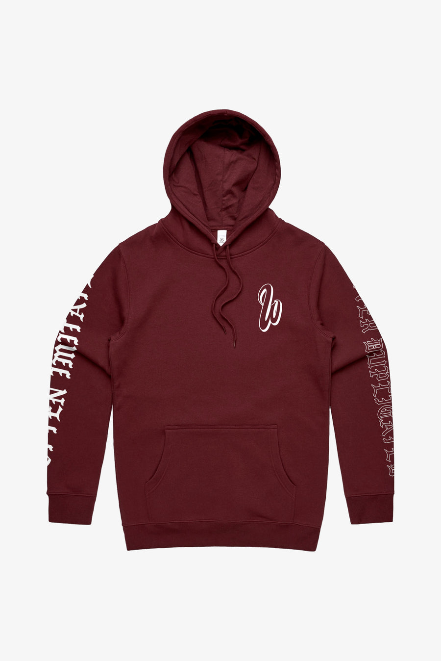 Often Imitated Hoodie Maroon