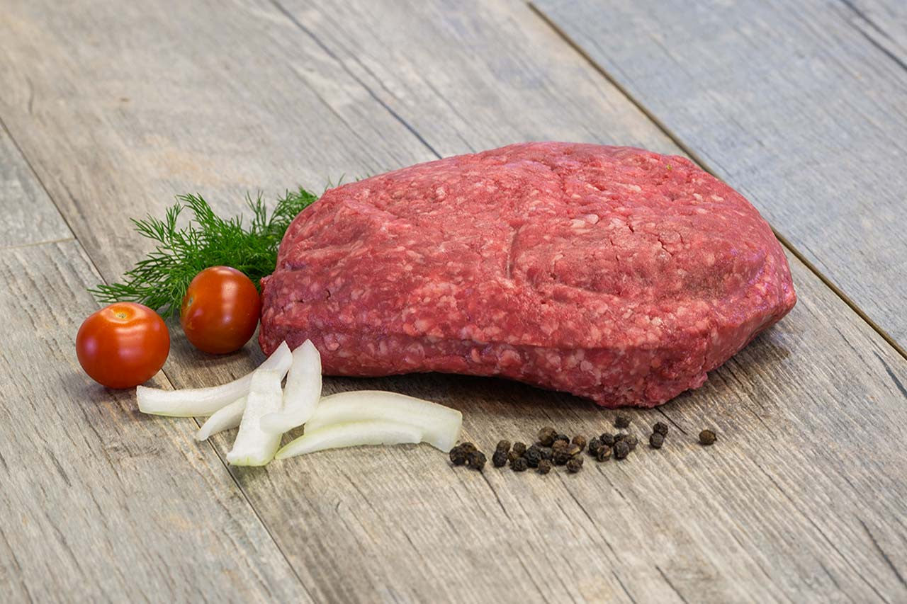 Premium Pea-Barley Finished Ground Beef (1lb)