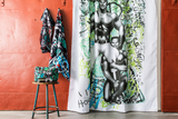 Tom of Finland Back Street Shower Curtain by Finlayson
