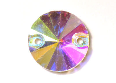 Circle Sew-On 16mm - Crystal AB