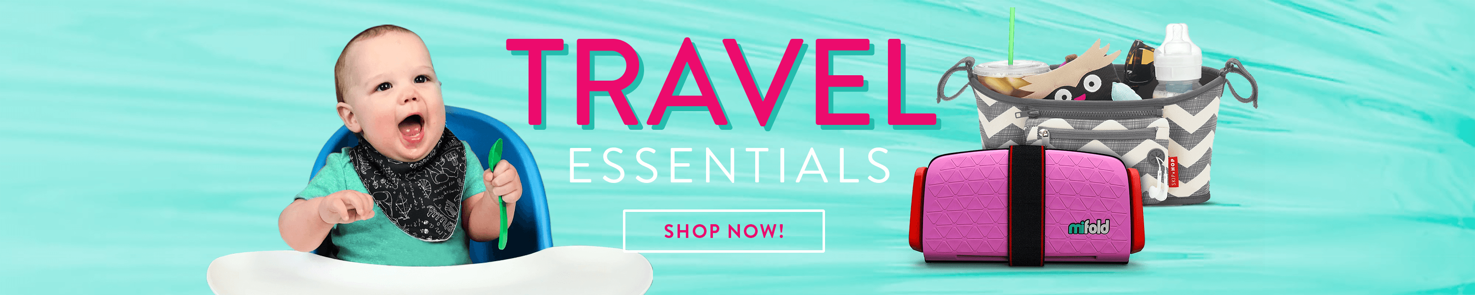Shop our Travel Essentials booster seats, toys, and more