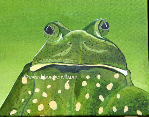 Painting Print, The Frog, 16x20