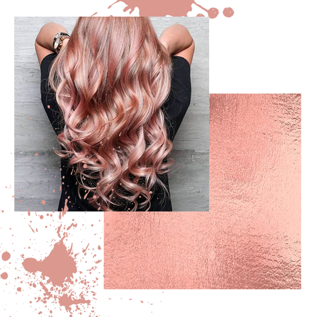 HOW TO - ROSE GOLD HAIR COLOR