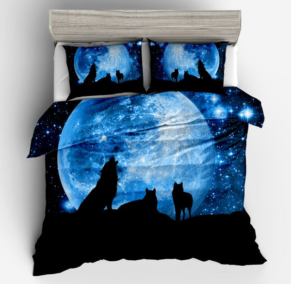 Wolf Pack Bedding Set