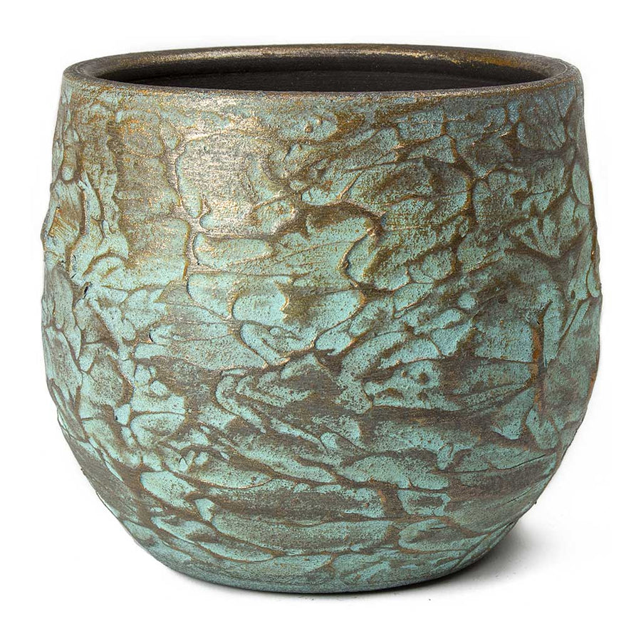 Evi Plant Pot - Antique Bronze - Small