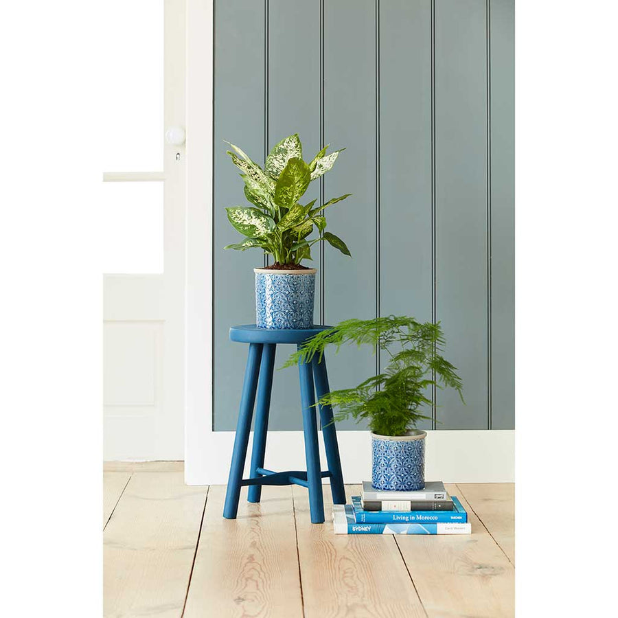 Porto Plant Pot - Dark Blue - Small