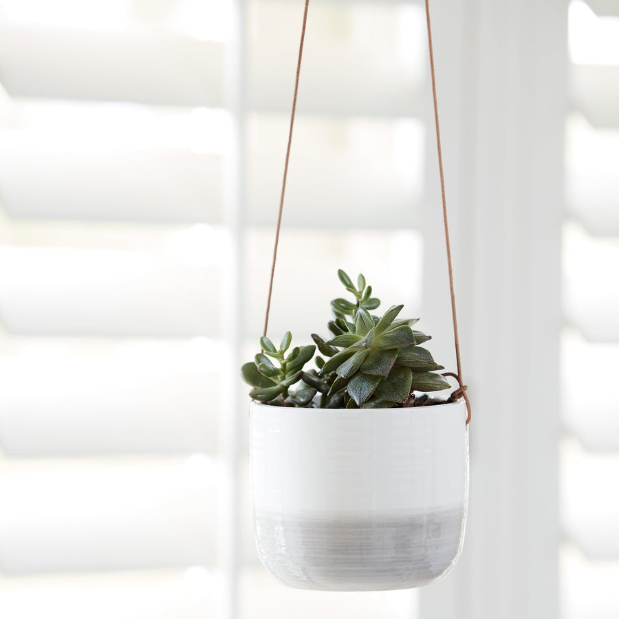 Ripple Hanging Indoor Pot