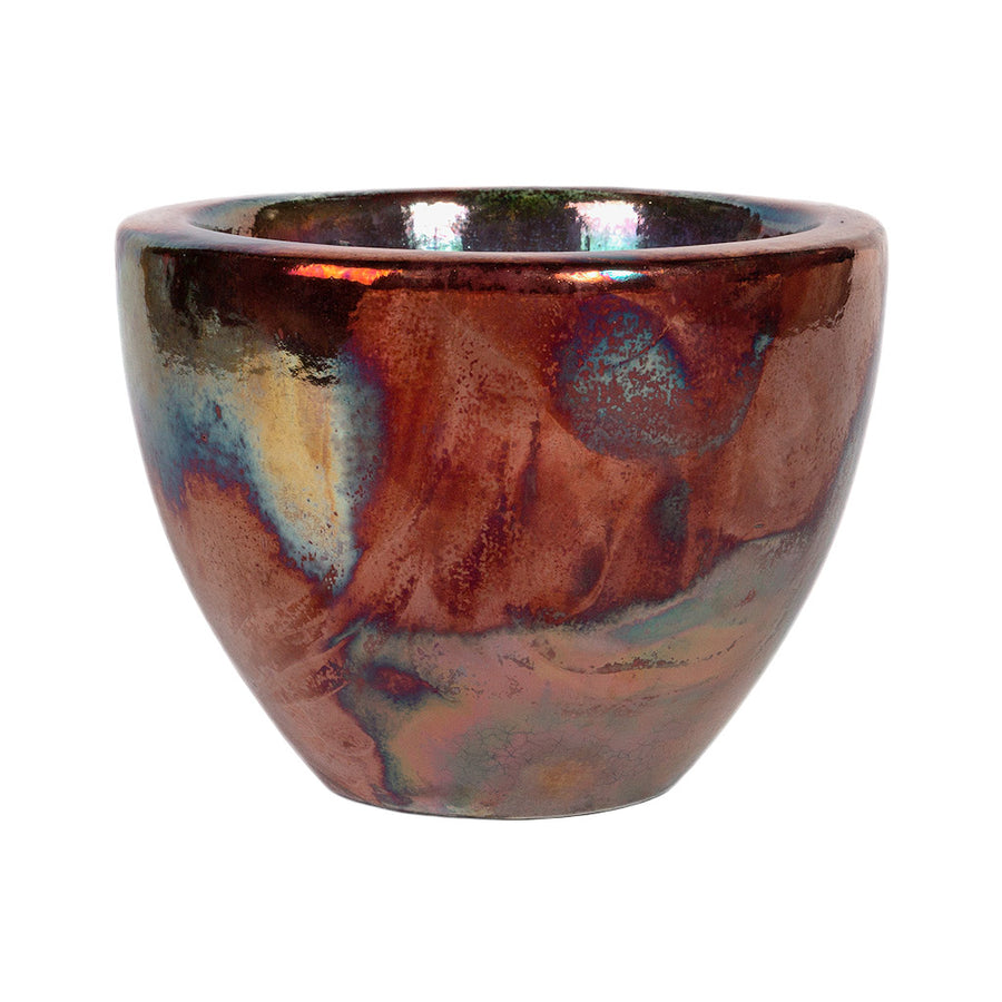 Livin' Beauty Plant Vase - Copper Smooth 25cm
