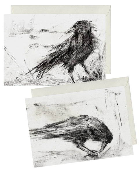 GREETINGS CARDS Crow STUDIES
