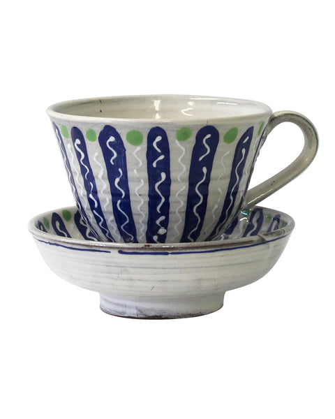 Large Cup & saucer/Bowl No5