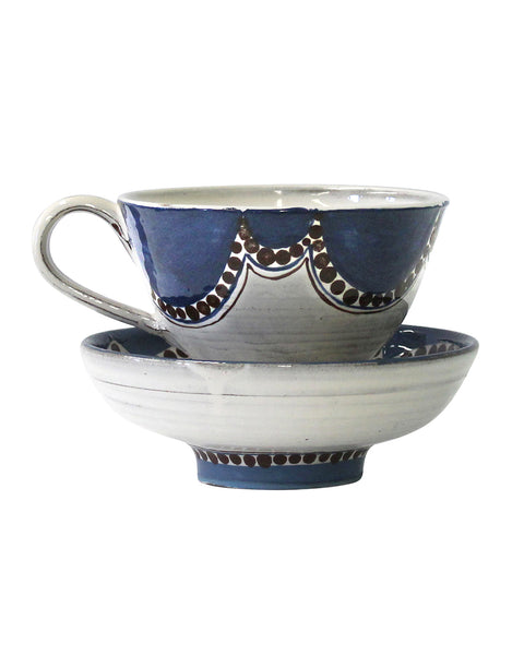 Large Cup & saucer/Bowl No6
