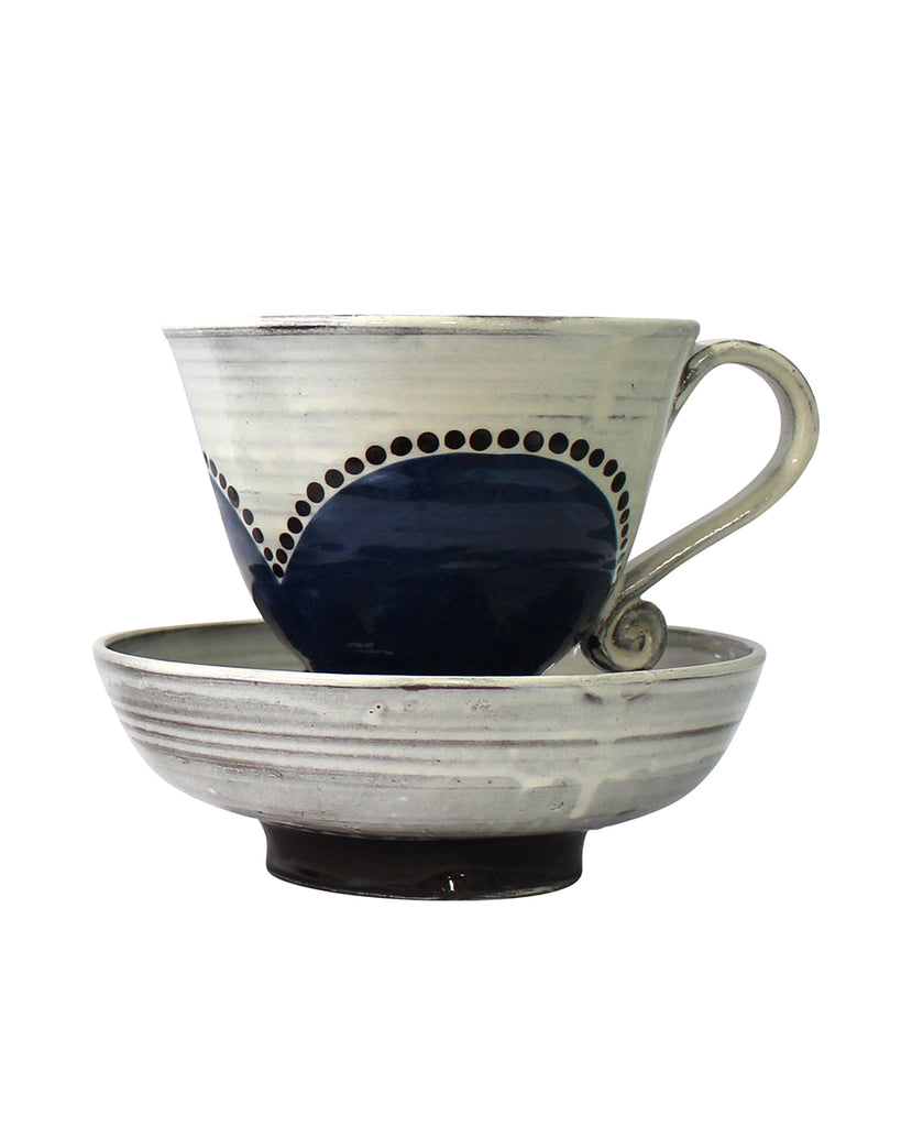 Large Cup & Saucer No1