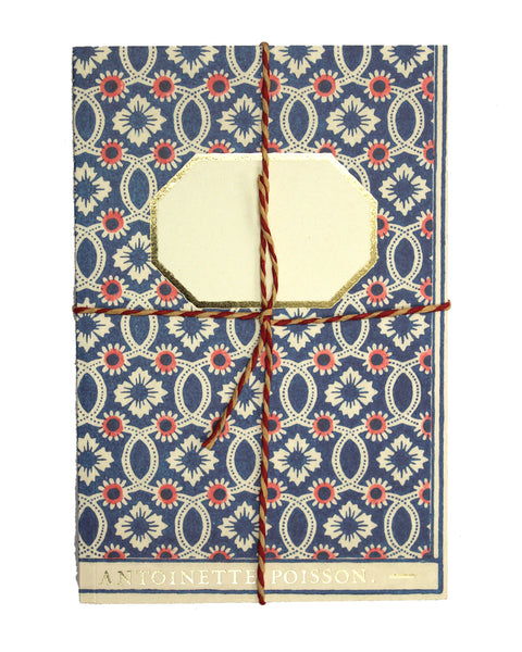 French Handmade Paper Notebook No4