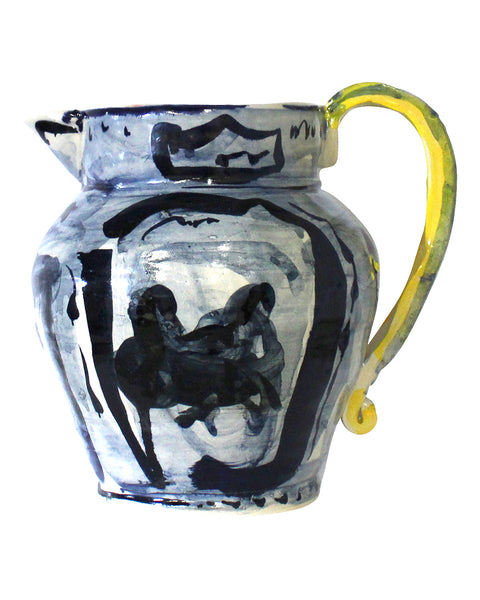 Big Table Jug Blue No2