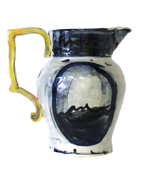 Big Table Jug Blue No4