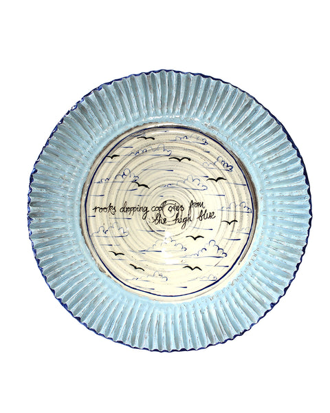 Large Platter -  High Blue