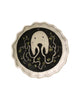 Little Fluted Dish (Sea Monster White)