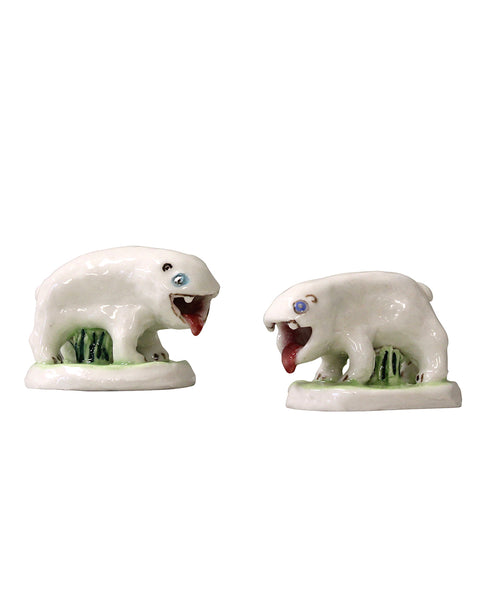 Little Porcelain Bears (pair)
