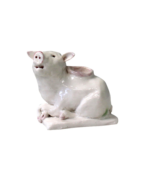 Pretty porcelain Pig - Pepper Pinch pot