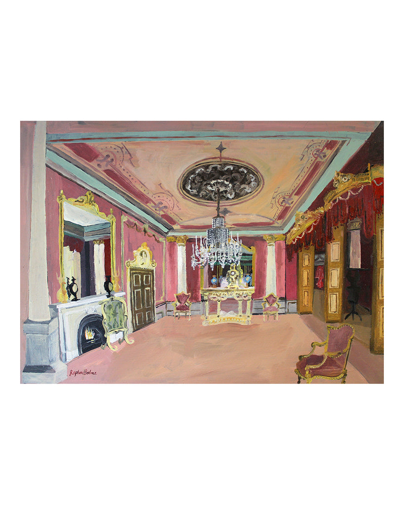 OIL PAINTING | The Ballroom
