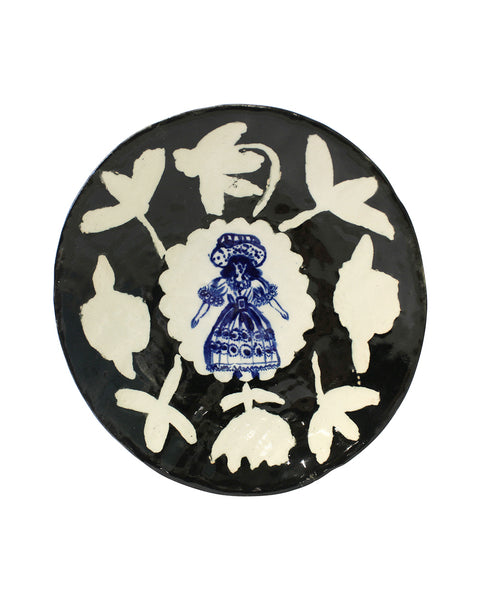 Delft Woman PLATE No17