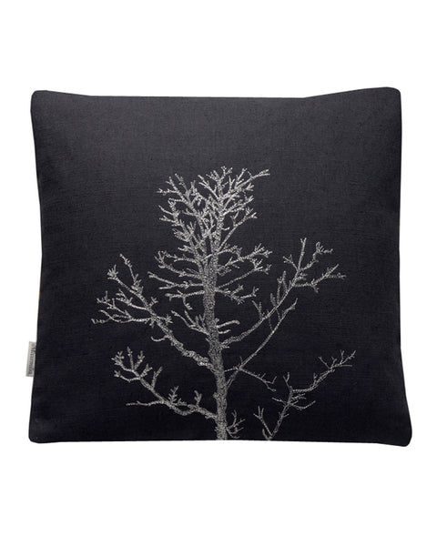 Winter Tree Black- cushion cover